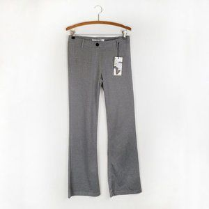 Betabrand NWT Dress Pant Yoga Pants S grey pattern